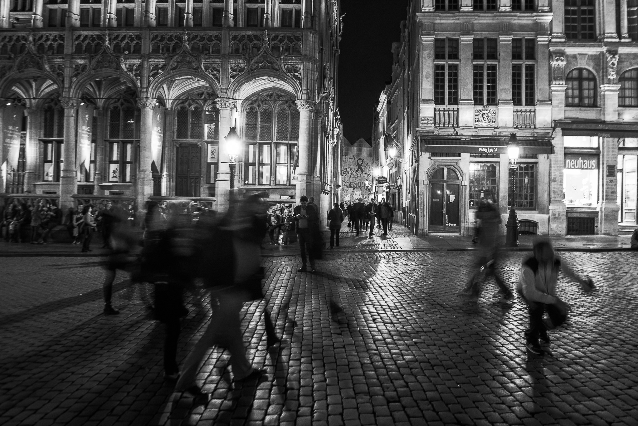 Grand Place de Bruxelles by night