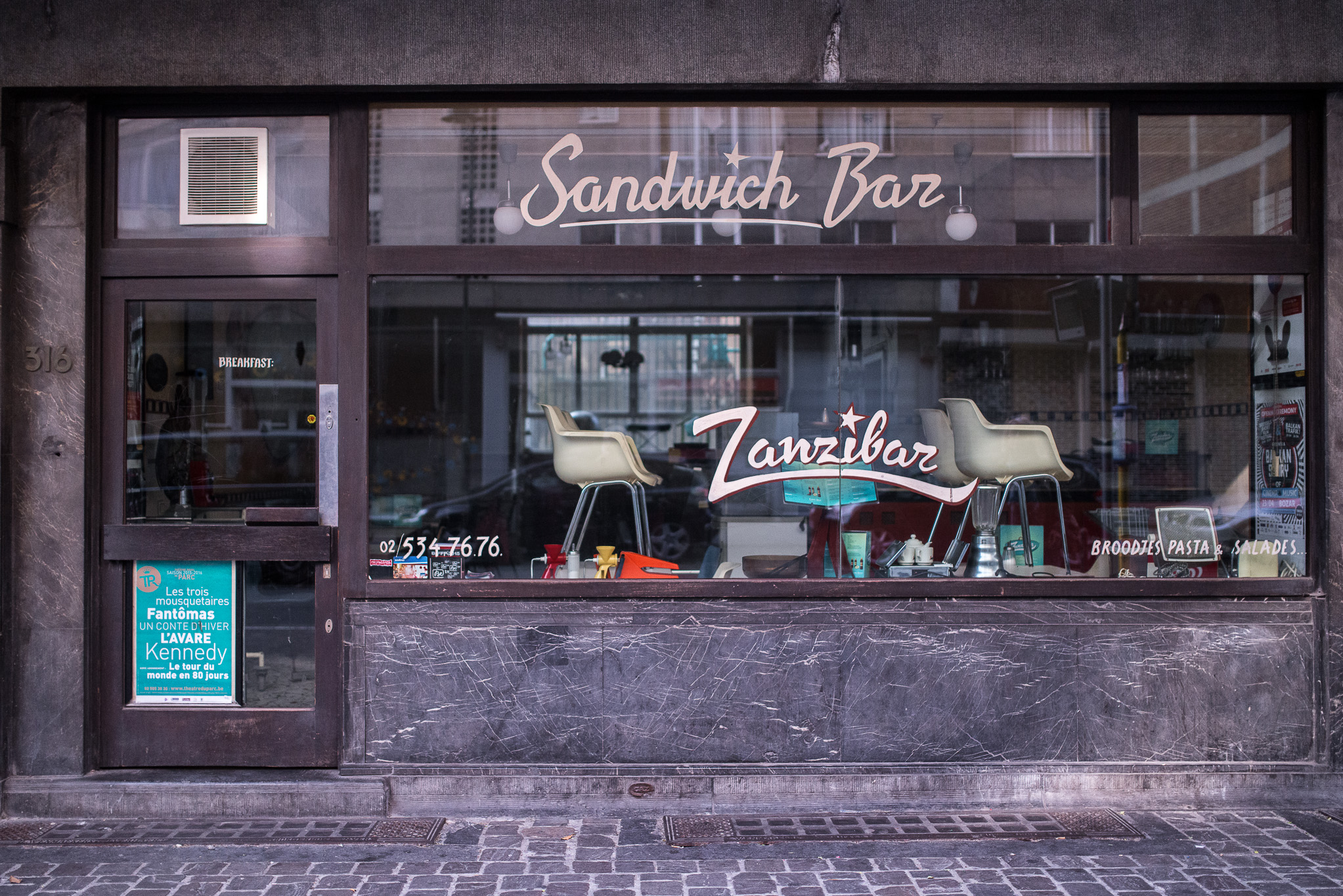 Sandwich Bar Rue Haute à Bruxelles