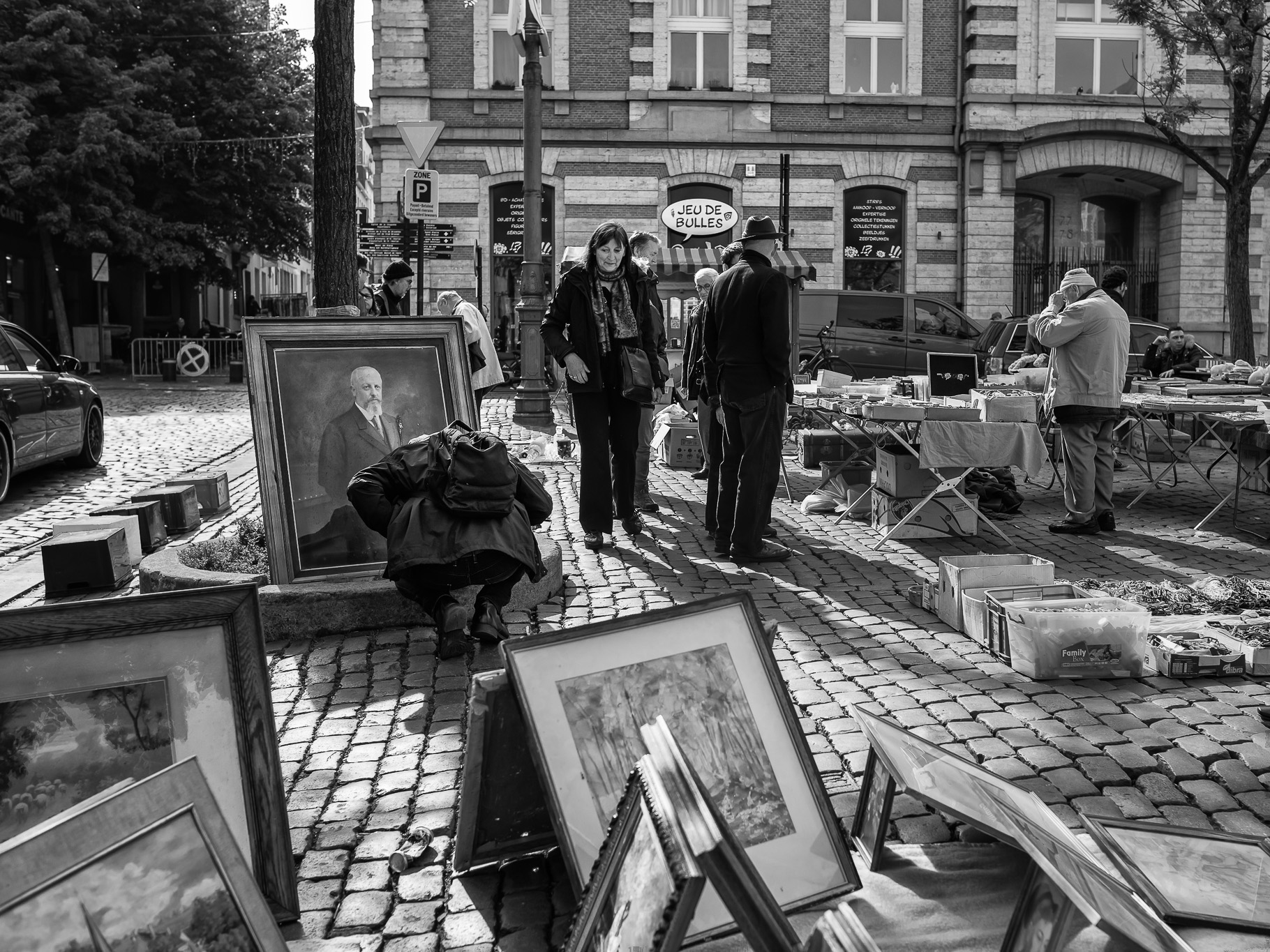 Bruxeels Street photography Marc Feron