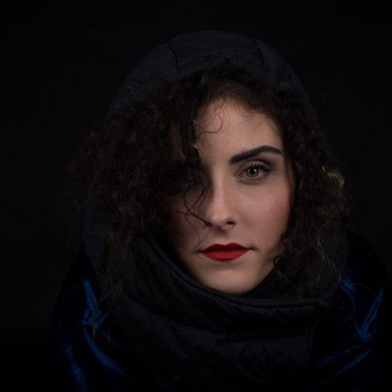Portrait d'Alexandra Sanz Marcos par Marc Feron